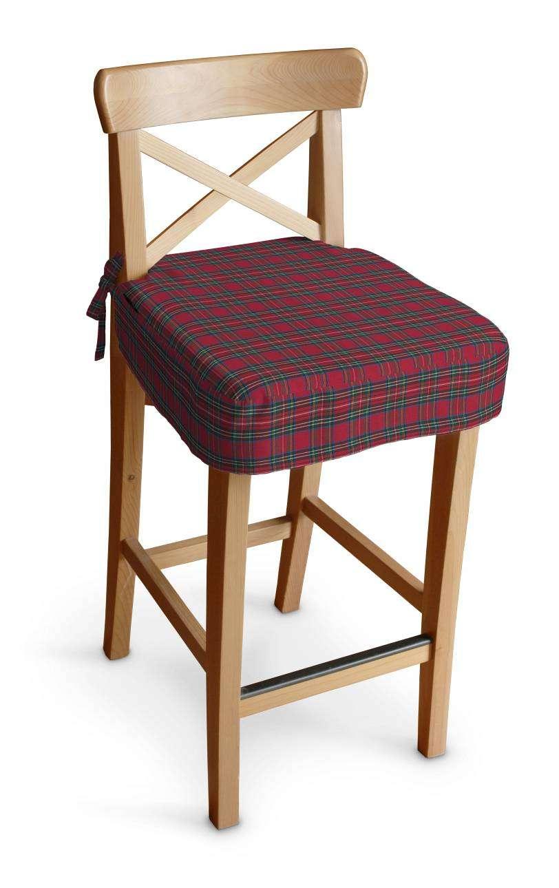 Siedzisko na krzesło barowe Ingolf w kolekcji Bristol, tkanina: 126-29