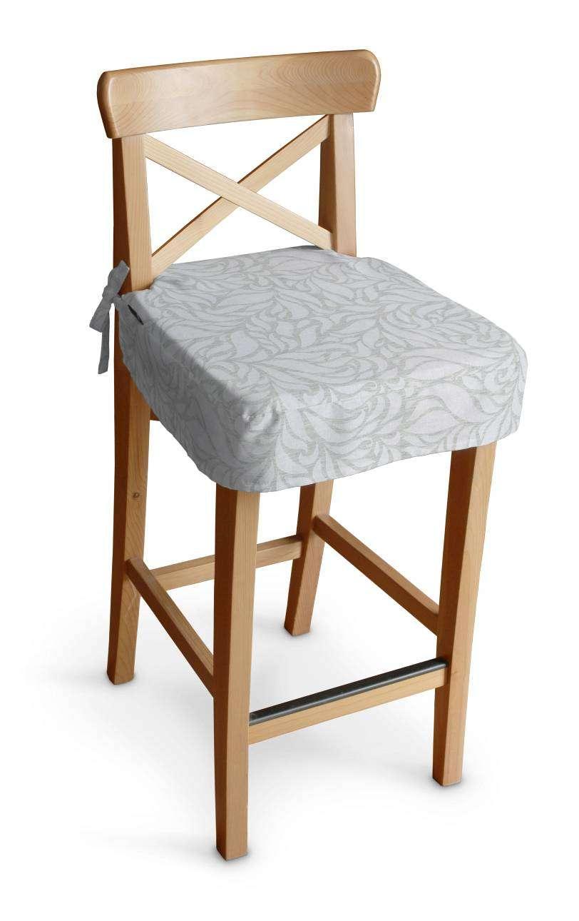 Siedzisko na krzesło barowe Ingolf krzesło barowe Ingolf w kolekcji Venice, tkanina: 140-50
