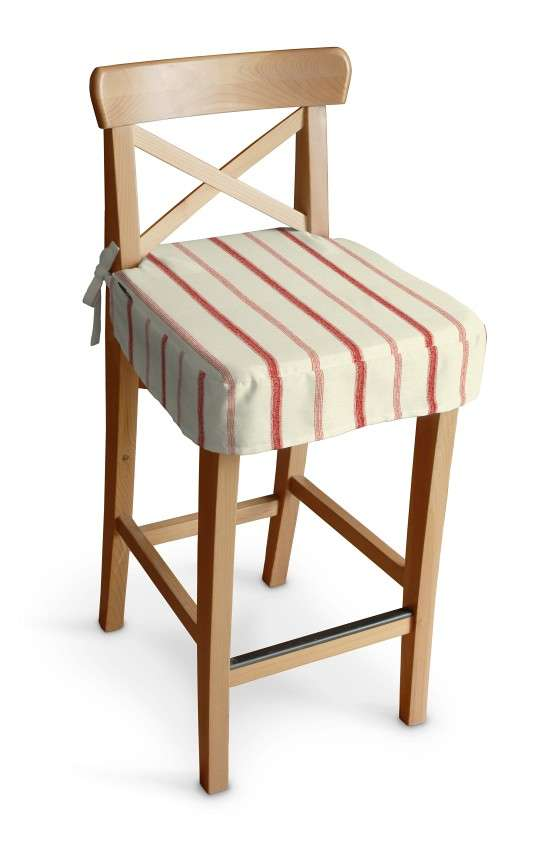 Ingolf bar stool seat pad cover in collection Avinon, fabric: 129-15