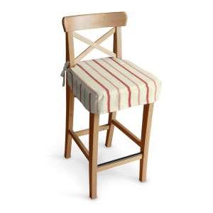 Siedzisko na krzesło barowe Ingolf krzesło barowe Ingolf w kolekcji Avinon, tkanina: 129-15