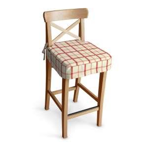 Siedzisko na krzesło barowe Ingolf krzesło barowe Ingolf w kolekcji Avinon, tkanina: 131-15
