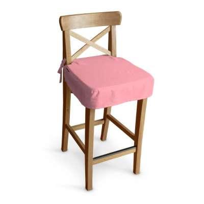 Sitzkissen für Barhocker Ingolf 133-62 rosa Kollektion Loneta