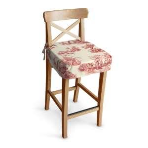 Siedzisko na krzesło barowe Ingolf krzesło barowe Ingolf w kolekcji Avinon, tkanina: 132-15