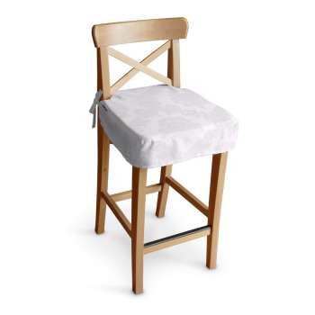 Siedzisko na krzesło barowe Ingolf krzesło barowe Ingolf w kolekcji Damasco, tkanina: 613-00