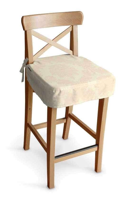 Siedzisko na krzesło barowe Ingolf krzesło barowe Ingolf w kolekcji Damasco, tkanina: 613-01