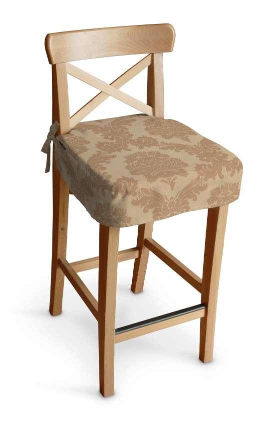 Siedzisko na krzesło barowe Ingolf krzesło barowe Ingolf w kolekcji Damasco, tkanina: 613-04