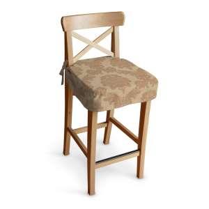 Ingolf baro kėdės užvalkalas - trumpas Ingolf baro kėdė kolekcijoje Damasco, audinys: 613-04