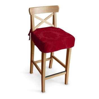 Ingolf baro kėdės užvalkalas - trumpas Ingolf baro kėdė kolekcijoje Damasco, audinys: 613-13