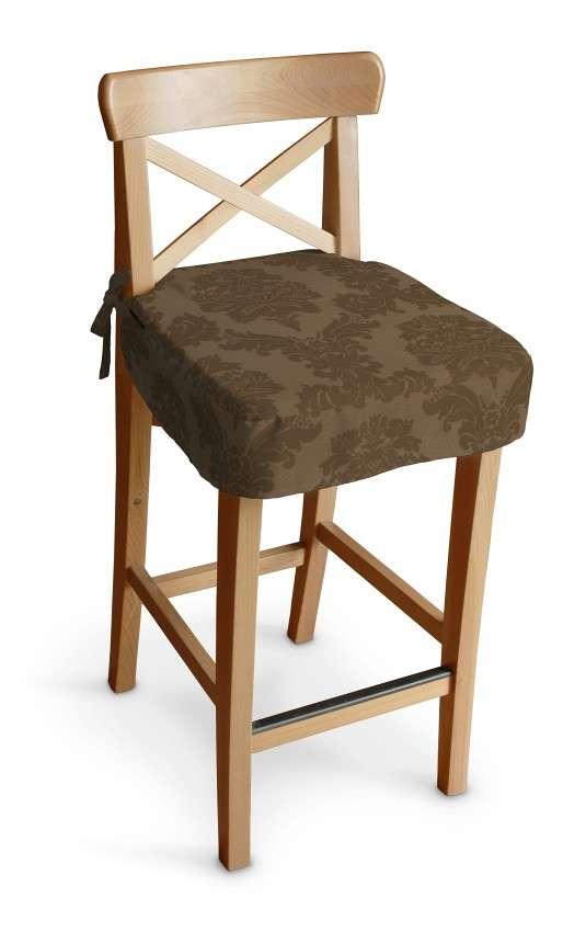 Siedzisko na krzesło barowe Ingolf krzesło barowe Ingolf w kolekcji Damasco, tkanina: 613-88