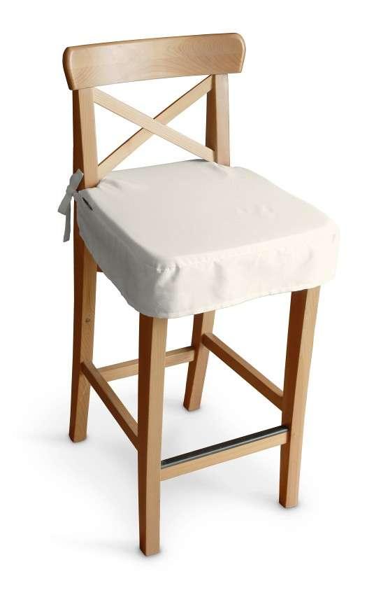 Sedák na židli IKEA Ingolf - barová  v kolekci Jupiter, látka: 127-00