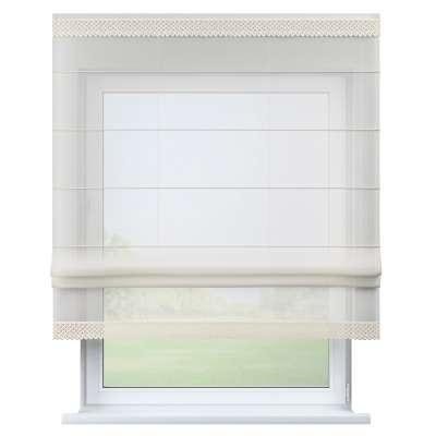 Lily II white voile blind 900-01 ivory Collection Voile