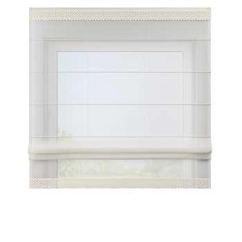 Romanetė su dekoratyviniais nėriniais (balta) szer.100 x dł.180cm kolekcijoje Woale, audinys: 900-01