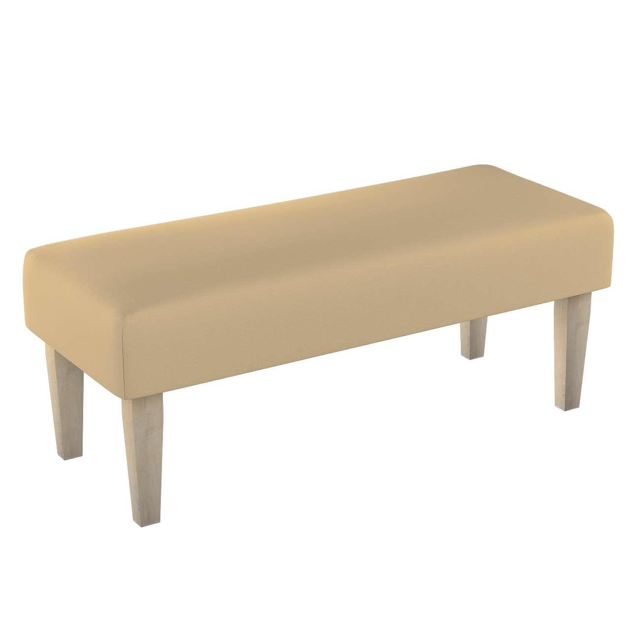 Sitzbank 100 cm 100x40x40cm von der Kollektion Cotton Panama, Stoff: 702-01