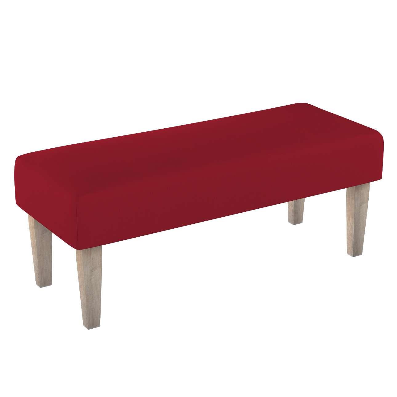 Sitzbank 100cm von der Kollektion Chenille, Stoff: 702-24