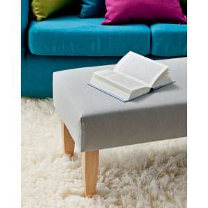 Sitzbank 100 cm 100x40x40cm von der Kollektion Etna, Stoff: 705-90