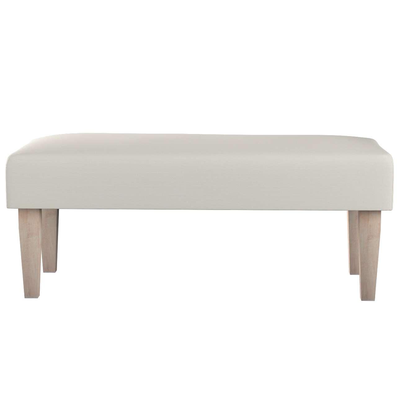 Sitzbank 100cm von der Kollektion Cotton Panama, Stoff: 702-31