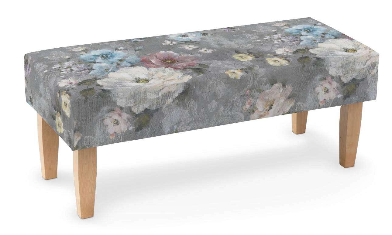Sitzbank 100cm von der Kollektion Flowers, Stoff: 137-81