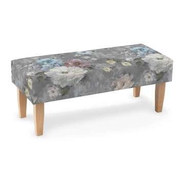 Sitzbank 100 cm 100x40x40cm von der Kollektion Monet, Stoff: 137-81