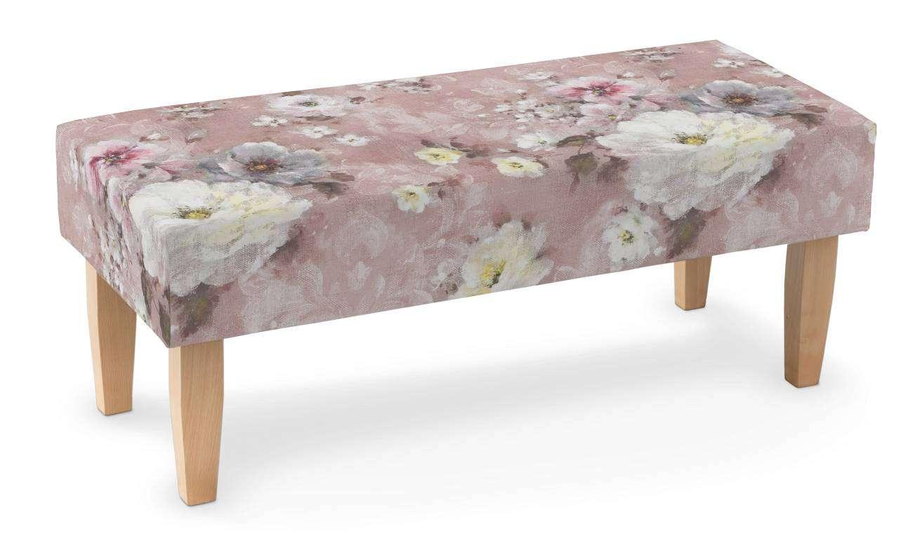 Ławka 100x40x40cm w kolekcji Monet, tkanina: 137-83