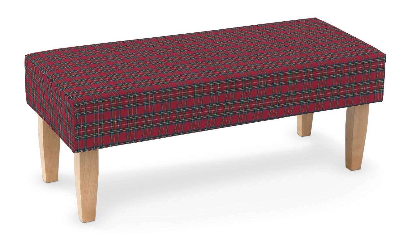 Ławka 100x40x40cm w kolekcji Bristol, tkanina: 126-29