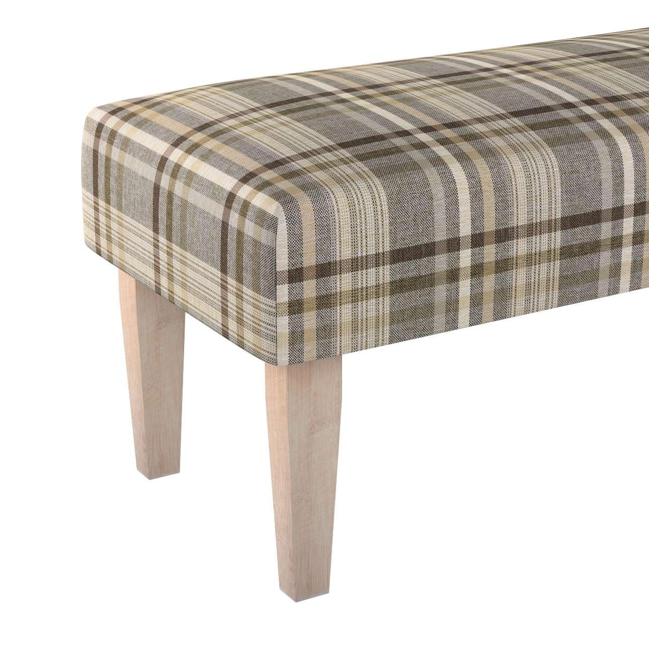 Sitzbank 100cm von der Kollektion Edinburgh, Stoff: 703-17