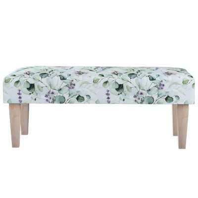 Sitzbank 100cm von der Kollektion Flowers, Stoff: 143-66