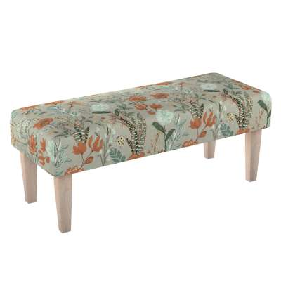 Sitzbank 100cm von der Kollektion Flowers, Stoff: 143-70