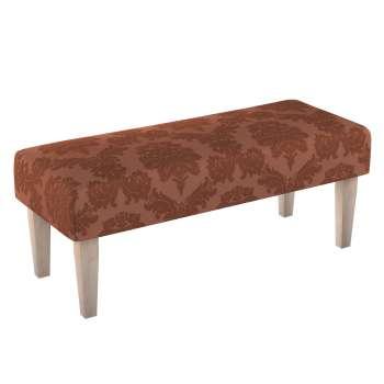Sitzbank 100 cm 100x40x40cm von der Kollektion Damasco, Stoff: 613-88