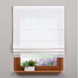 Padva roman blind with lace detail