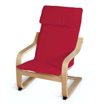 Poduszka na fotelik dziecięcy Poäng w kolekcji Cotton Panama, tkanina: 702-04