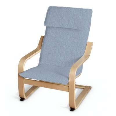 Poduszka na fotelik dziecięcy Poäng w kolekcji Chenille, tkanina: 702-13