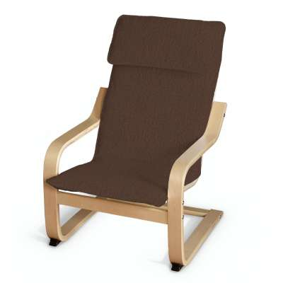 Poduszka na fotelik dziecięcy Poäng w kolekcji Chenille, tkanina: 702-18