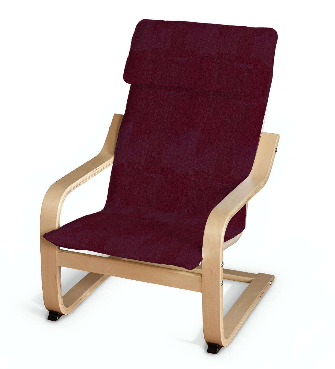 Poduszka na fotelik dziecięcy Poäng fotelik dziecięcy Poäng w kolekcji Chenille, tkanina: 702-19