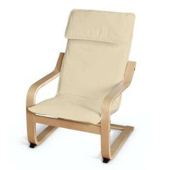 Poduszka na fotelik dziecięcy Poäng w kolekcji Chenille, tkanina: 702-22