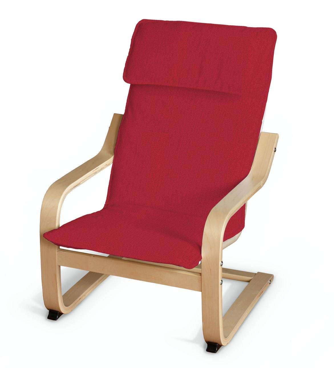 Poäng vaikų fotelio užvalkalas kolekcijoje Chenille, audinys: 702-24
