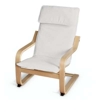 Poduszka na fotelik dziecięcy Poäng 705-01 kremowa biel Kolekcja Etna