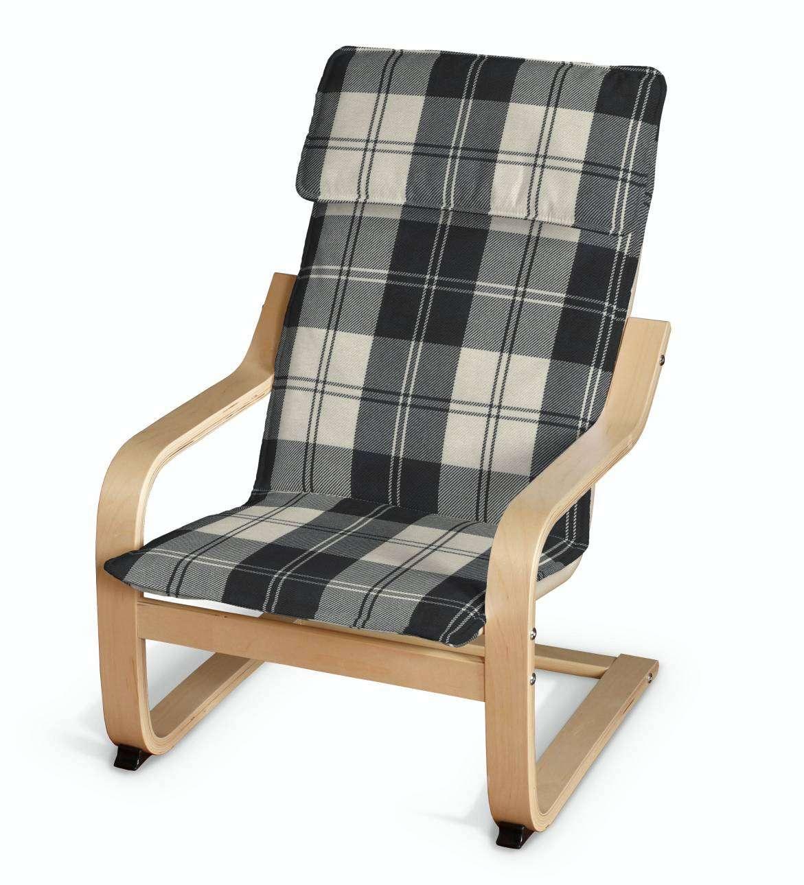 Poäng vaikų fotelio užvalkalas Poäng fotelis vaikams kolekcijoje Edinburgh , audinys: 115-74