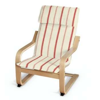 Poäng vaikų fotelio užvalkalas Poäng fotelis vaikams kolekcijoje Avinon, audinys: 129-15