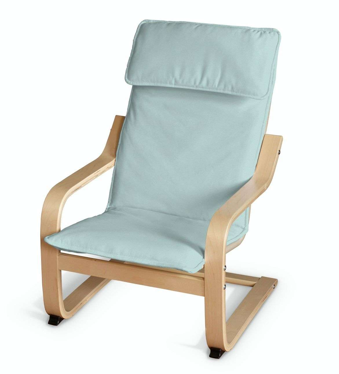 Poduszka na fotelik dziecięcy Poäng w kolekcji Cotton Panama, tkanina: 702-10
