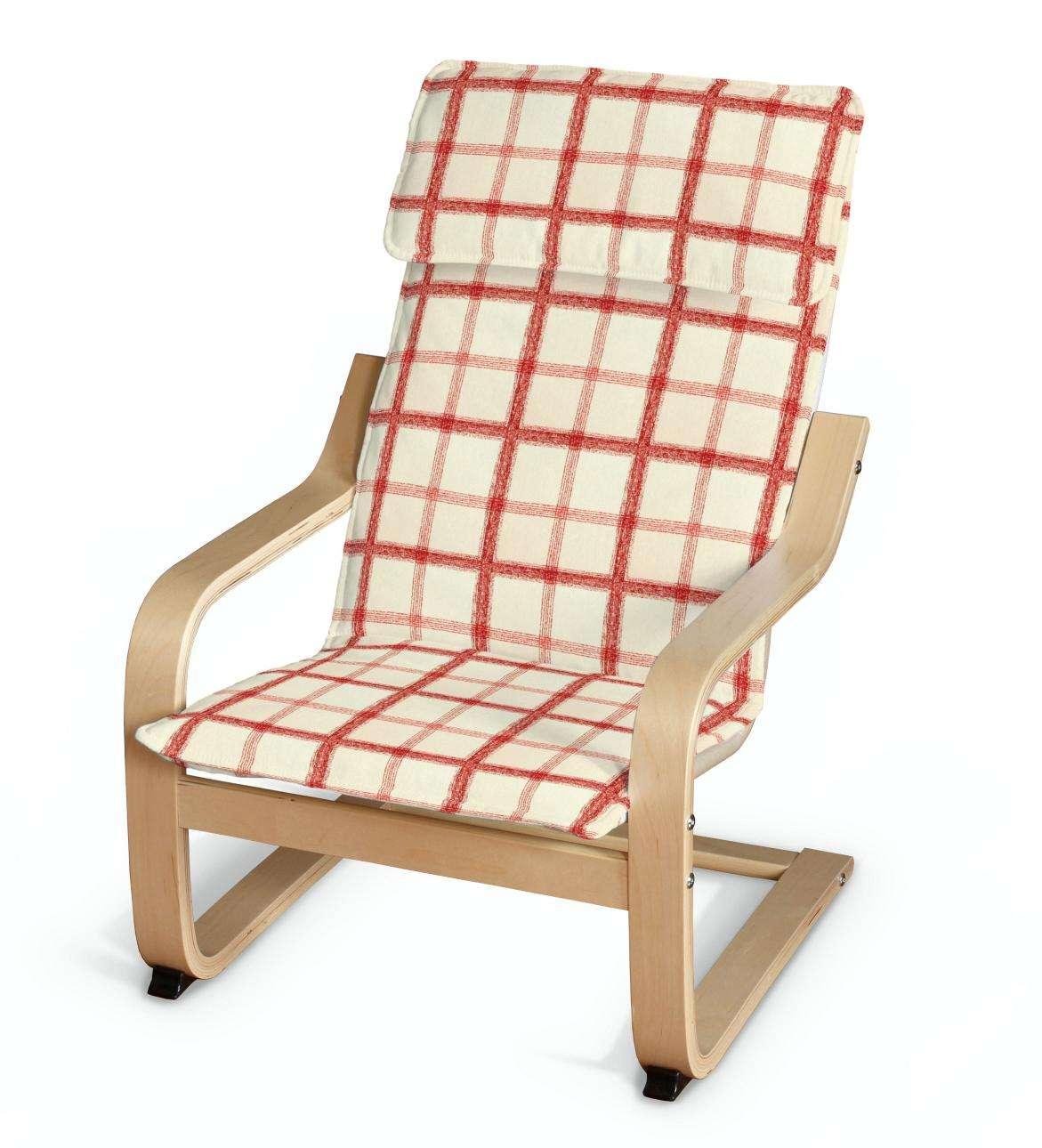 Poduszka na fotelik dziecięcy Poäng fotelik dziecięcy Poäng w kolekcji Avinon, tkanina: 131-15