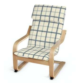 Poduszka na fotelik dziecięcy Poäng w kolekcji Avinon, tkanina: 131-66