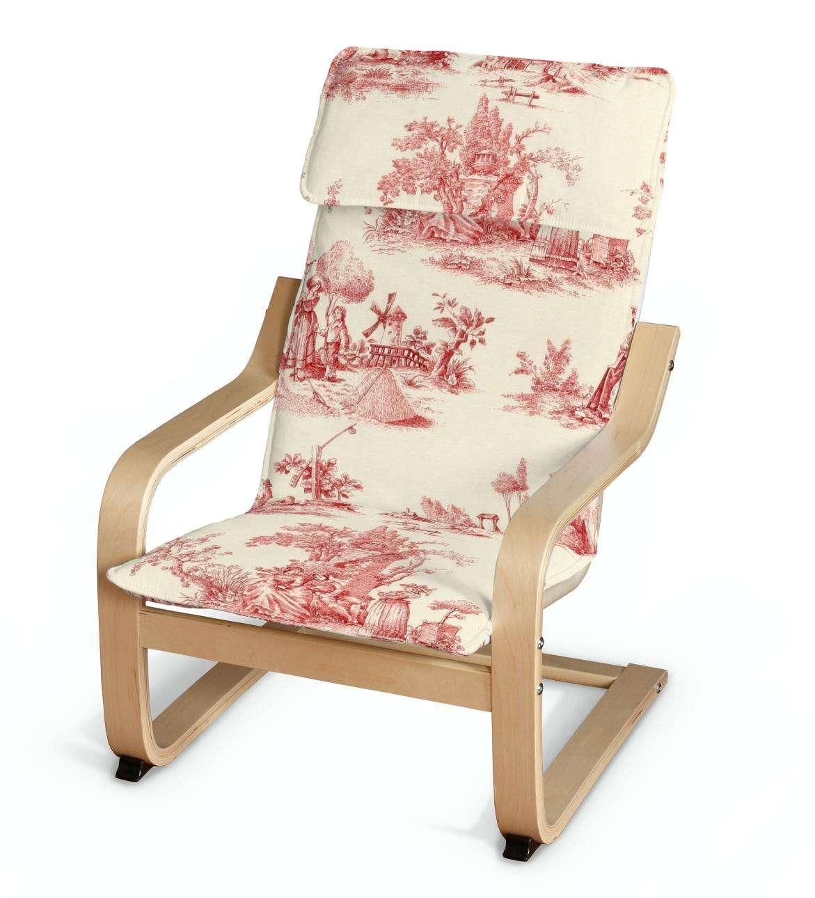 Poäng vaikų fotelio užvalkalas Poäng fotelis vaikams kolekcijoje Avinon, audinys: 132-15