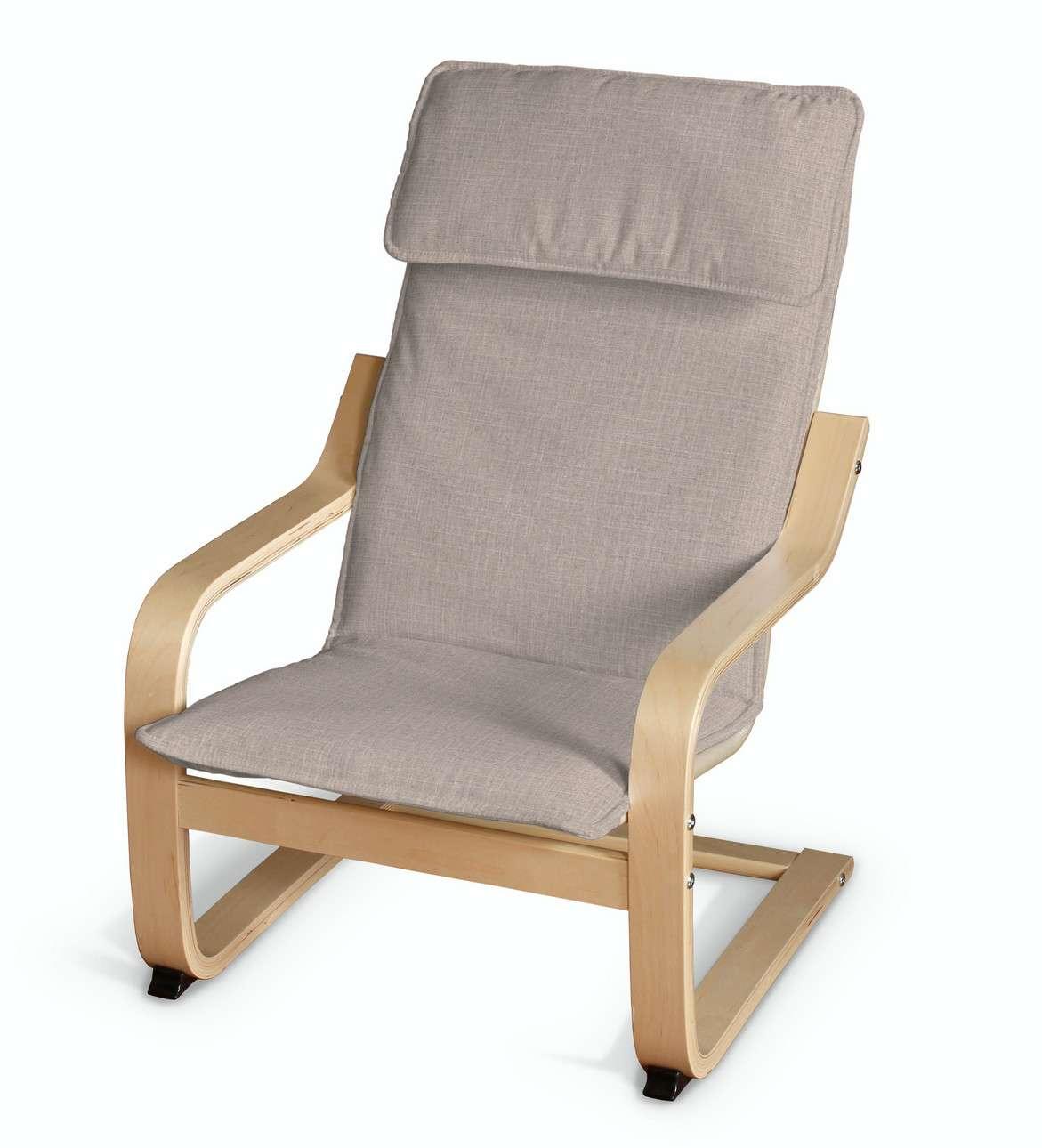 Poduszka na fotelik dziecięcy Poäng w kolekcji Living II, tkanina: 160-85