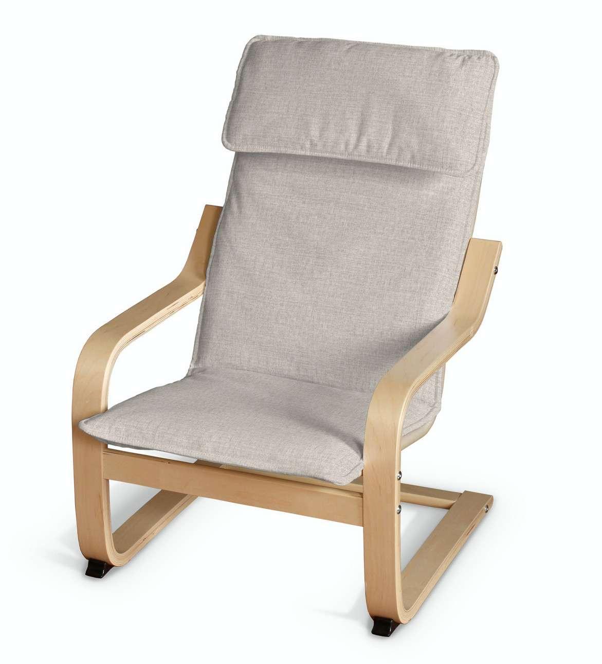 Poduszka na fotelik dziecięcy Poäng w kolekcji Living II, tkanina: 161-00