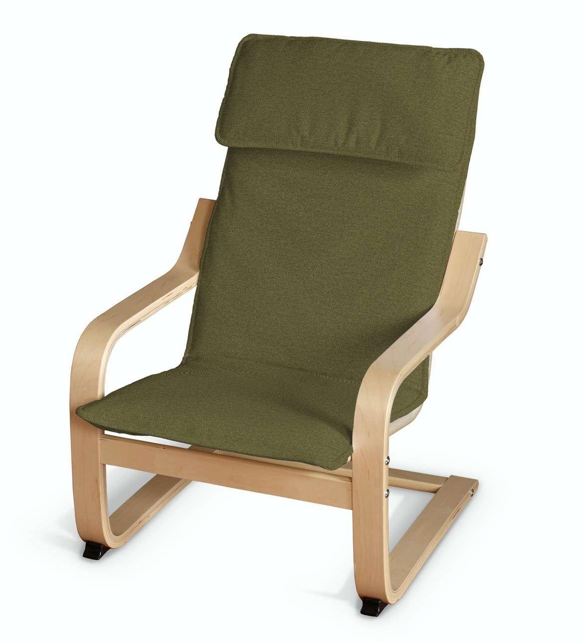 Poduszka na fotelik dziecięcy Poäng w kolekcji Etna, tkanina: 161-26