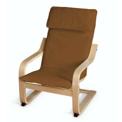 Sedák na dětské křeslo IKEA Poäng 161-28 karamelová Kolekce Living II