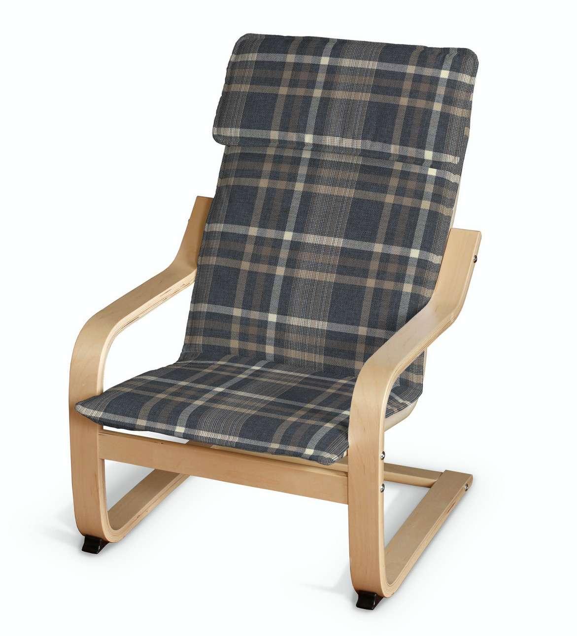 Poduszka na fotelik dziecięcy Poäng w kolekcji Edinburgh, tkanina: 703-16