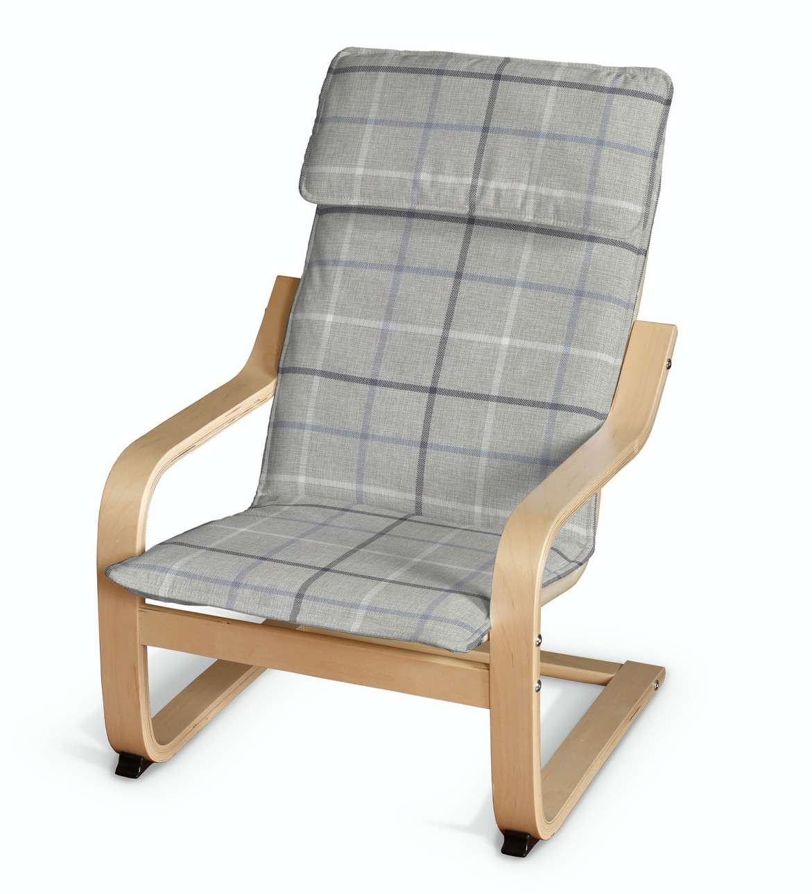 Poduszka na fotelik dziecięcy Poäng w kolekcji Edinburgh, tkanina: 703-18