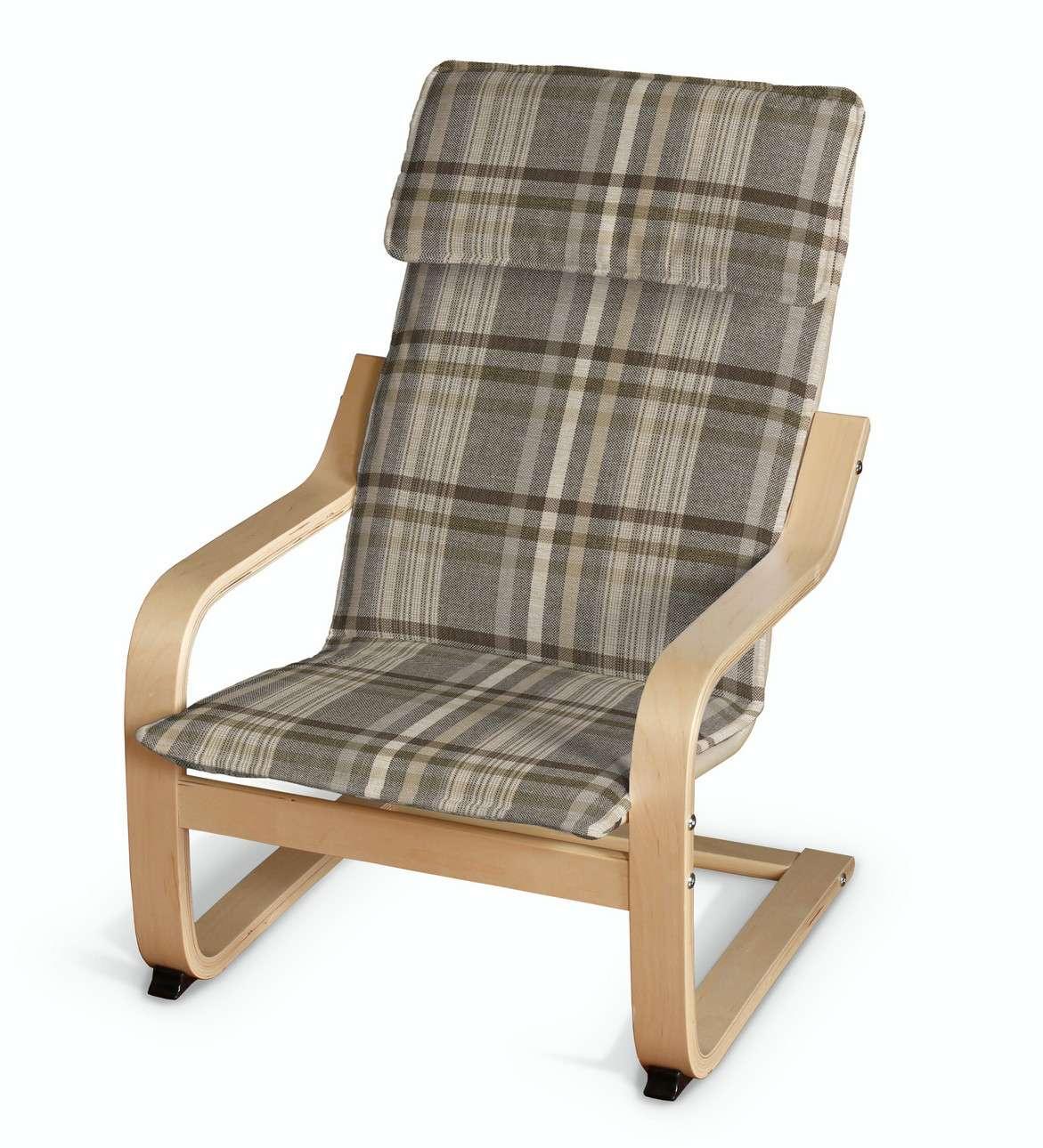 Poduszka na fotelik dziecięcy Poäng w kolekcji Edinburgh, tkanina: 703-17