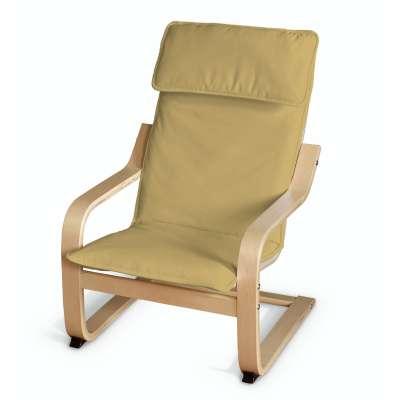 Poduszka na fotelik dziecięcy Poäng 702-41 zgaszony żółty Kolekcja Cotton Panama